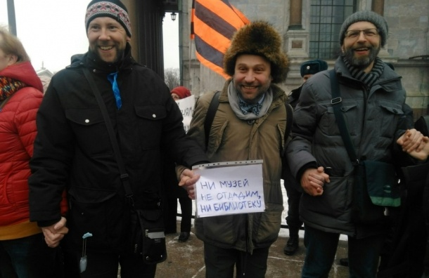 Член Топонимической комиссии против передачи Исаакия РПЦ