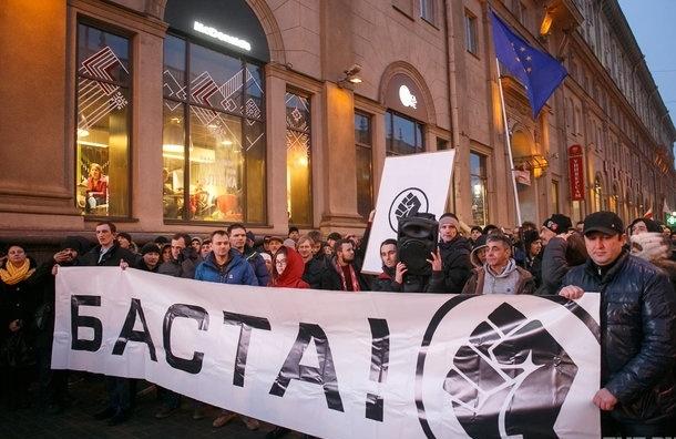 «Рассерженные белорусы» прошли маршем по Минску