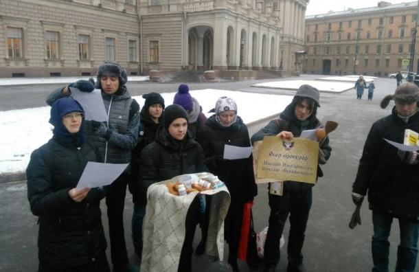 "«Спецназ ""Яблока""» предложил депутатам ЗакСа «оскорбинку»"