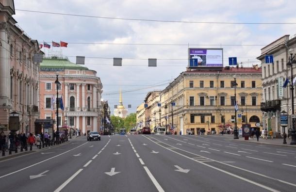 Тоннели предлагают прорыть чиновники под Невским проспектом