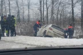 Водитель погиб в ДТП на Московском шоссе
