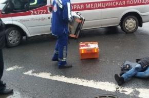 Маршрутка сбила девушку на Большом Сампсониевском проспекте