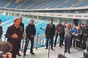 ФИФА и шероховатости стадиона на Крестовском
