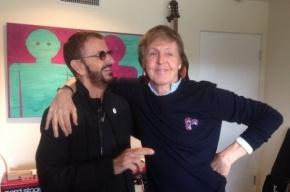 Пол Маккартни и Ринго Старр воссоединились для записи нового альбома