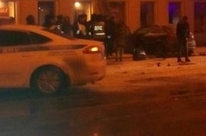 Таксист в центре Петербурга устроил «гонки» с ДПС