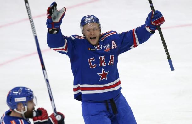 СКА в овертайме выиграл первый матч у «Локомотива»