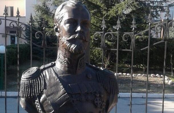 Поклонская: Бюст Николая II в Крыму мироточит