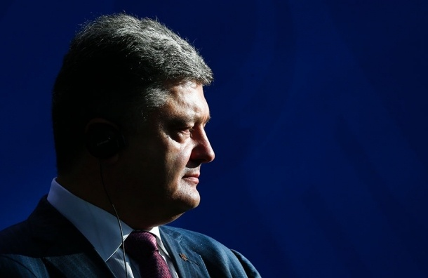 Порошенко поручил с 1 апреля прекратить огонь в Донбассе