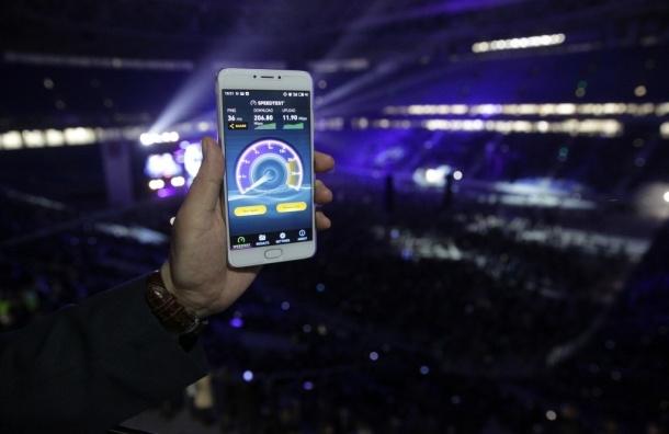 «МегаФон» на «Санкт-Петербург Арене» прошел тест на качество связи