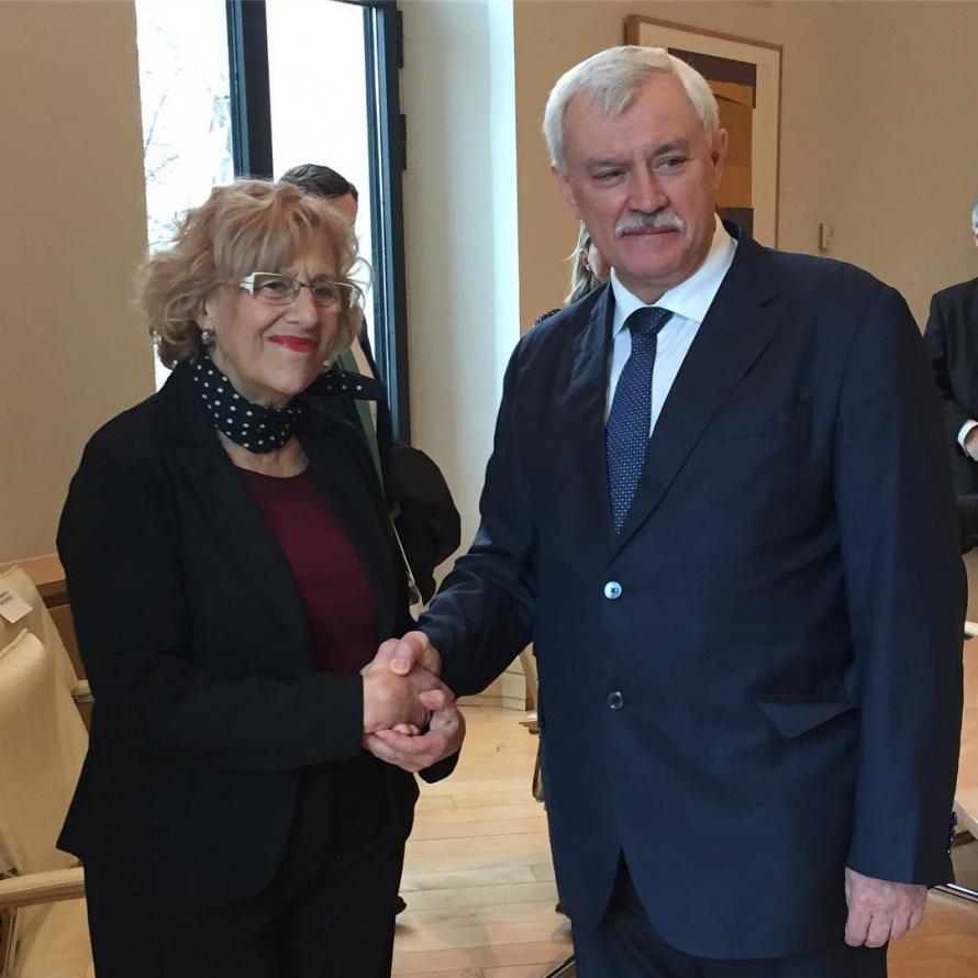 Георгий Полтавченко встретился смэром Мадрида