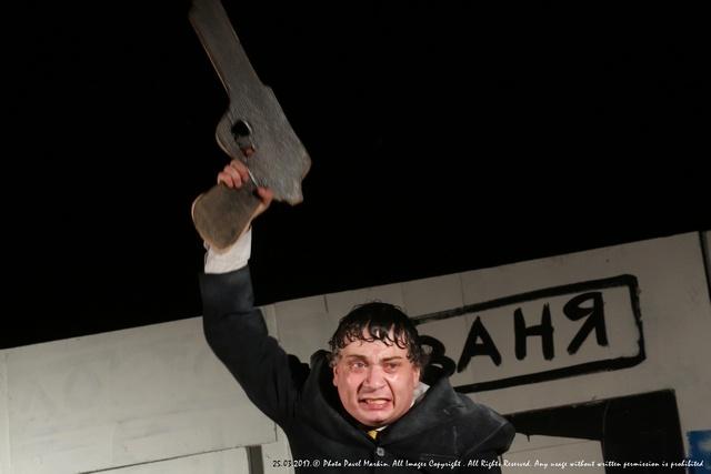_Александр Новиков на репетиции спектакля Дядя Ваня, фото Павел Маркин