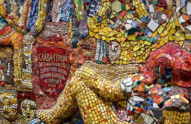 Мозаичный дворик в Петербурге исчезнет из-за равнодушия