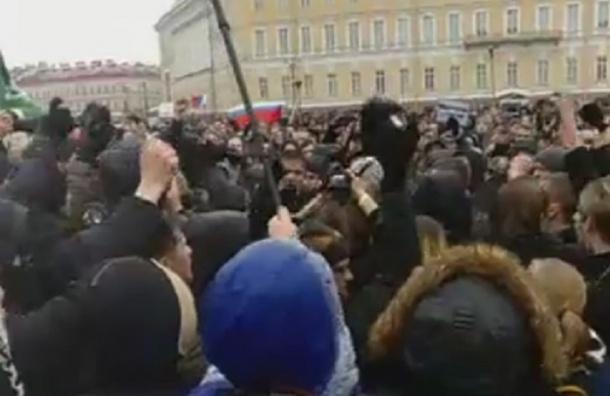 Трех человек задержали на антикоррупционной акции в Петербурге