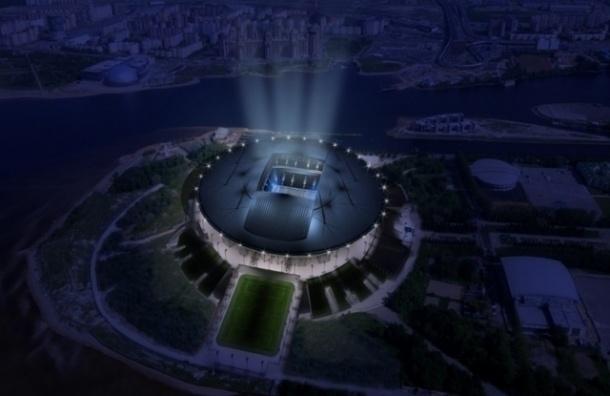 Фестиваль света раскрасит стадион на Крестовском
