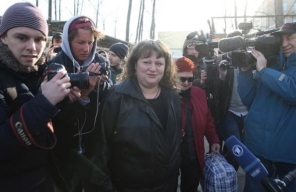 Помилованная Путиным Севастиди вышла на свободу