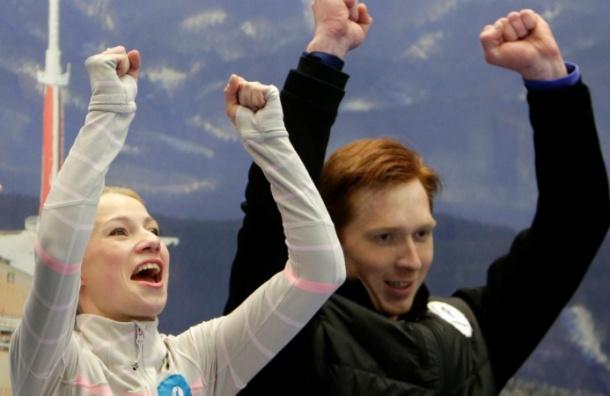 Российские фигуристы Тарасова и Морозов выиграли бронзу на чемпионате мира в Финляндии