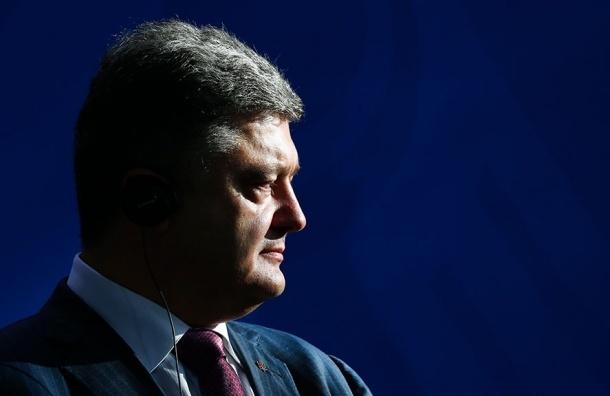 Порошенко пообещал выставить счет ЛНР и ДНР за блокаду Донбасса