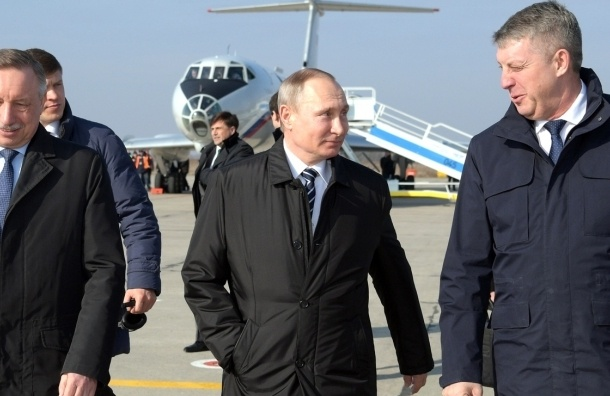 Путин похвалил автомобили марки Lada Kalina