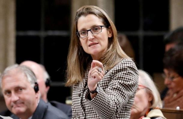 Руководитель канадского МИД обрушилась собвинениями вадрес Российской Федерации