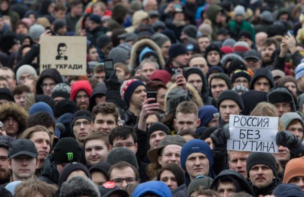 Активисты: задержанных на акции протеста в Москве пытают