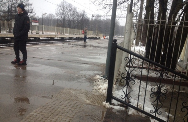 Девушку сбил насмерть поезд около станции «Старый Петергоф»
