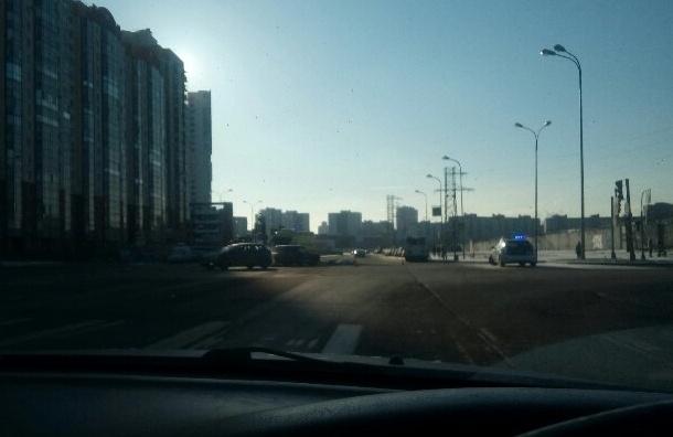 Насевере Петербурга молодой автомобилист насмерть сбил пожилого велосипедиста