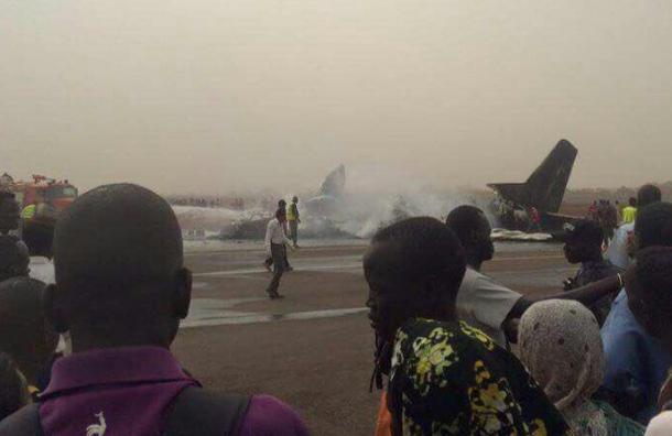 ВЮжном Судане разбился пассажирский самолет