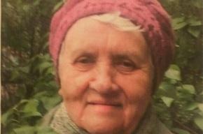 Полиция ищет пенсионерку в Петербурге
