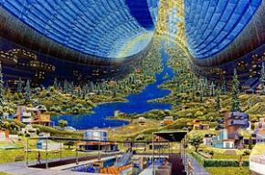 Ученый рассказал о создании колонии-мегаполиса в космосе через 20 лет