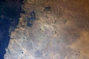 Астронавт ESA опубликовал в Сети снимок пирамид из космоса