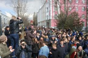 Пять человек задержаны в Хабаровске на митинге против коррупции