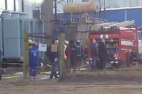 Трансформаторная подстанция вспыхнула в Кировском районе