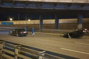 Пешеход погиб в аварии на КАД