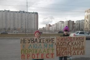 Петербуржцы снова выйдут намитинг против уплотнительной застройки вПриморском районе