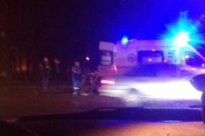 Машина сбила в Красном Селе хамоватого пешехода