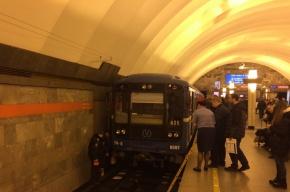 Девушка на «Ладожской» упала на рельсы, станция закрыта