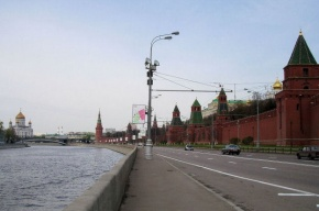 Труп мужчины извлекли из Москвы-реки у Кремля