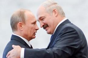 Лукашенко: мы с Путиным родные братья