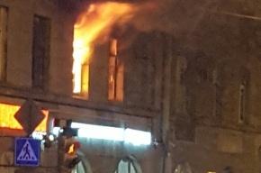 Двухкомнатная квартира горела на Кронверкском проспекте