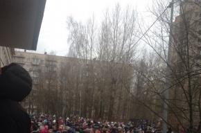 Эвакуировали учеников и педагогов из школы № 362