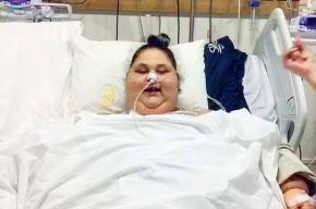 Самая тяжелая вмире женщина похудела на140 килограммов