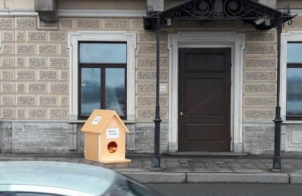 Дом уточки для «тайного дворца Медведева» установили вПетербурге