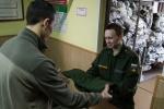 Первая отправка команды призывников к местам прохождения военной службы (Игорь Руссак): Фоторепортаж