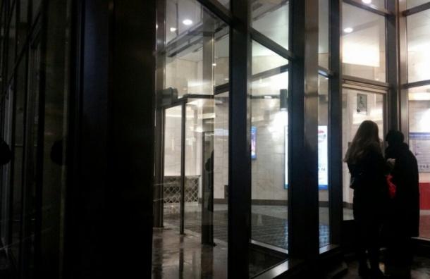 «Адмиралтейскую» закрыли для пассажиров из-за бесхозного предмета