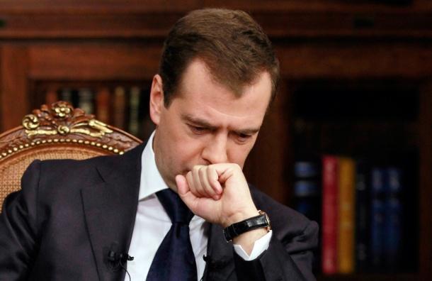 Медведев стал меньше зарабатывать