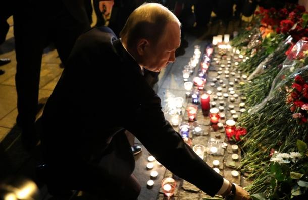 Песков считает, что теракт вдень визита Путина «заставляет задуматься»
