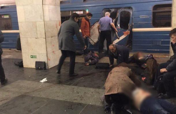 Метрополитен подтвердил взрыв впетербургском метро