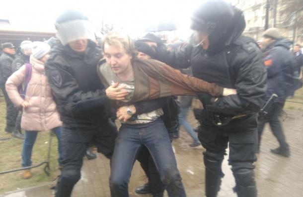 МВД: 150 человек вышли наакцию «Надоел»