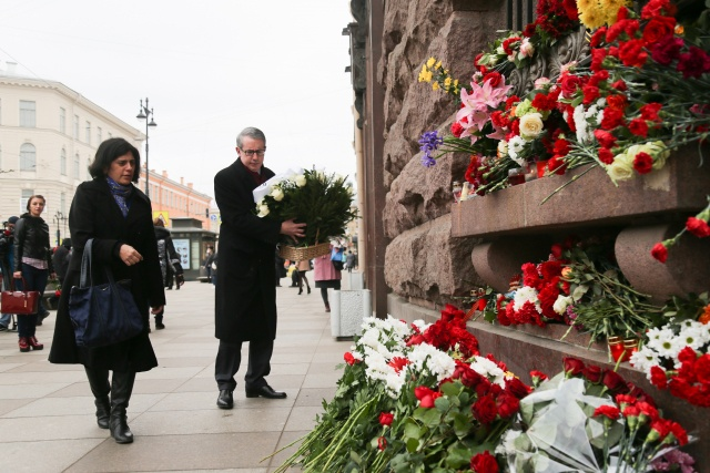 Теракт в Петербурге, 3 апреля 2017 года (03.04.2017) фото: Игорь Руссак : Фото