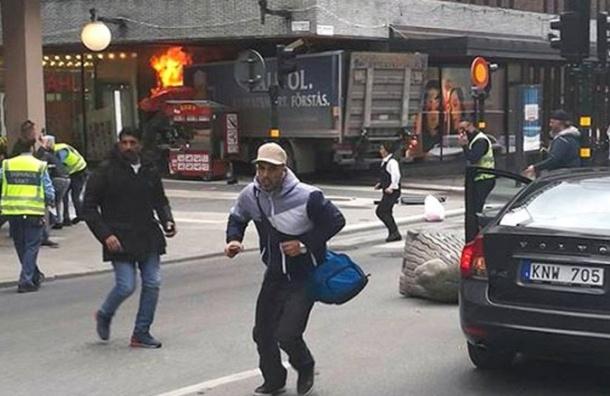 СМИ сообщили о стрельбе на месте теракта в Швеции